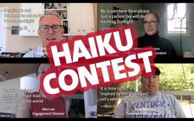 EcoRight Haiku Contest