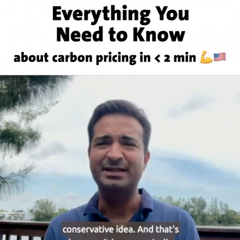 Everything You Need to Know about Carbon Pricing Carlos Curbelo