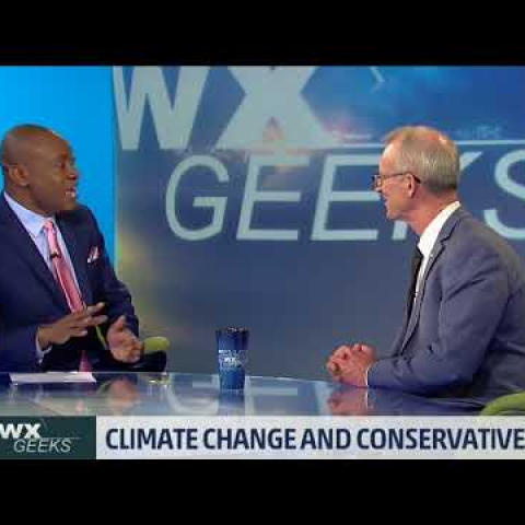 Bob Inglis with WX Geeks host Marshall Shepherd