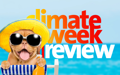 Climate Week En Review, August 14, 2020