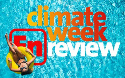 Climate Week En Review, September 4, 2020