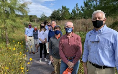 "Conservative lawmakers see climate impacts at Upstate S.C. ""field trip"""