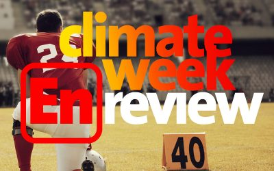 Climate Week En Review, October 9, 2020