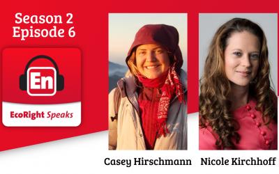 EcoRight Speaks, season 2, episode 6: Nicole Kirchhoff and Casey Hirshmann, amazing women of republicen.org