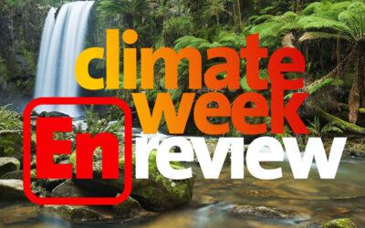 Climate Week En Review, April 30, 2021