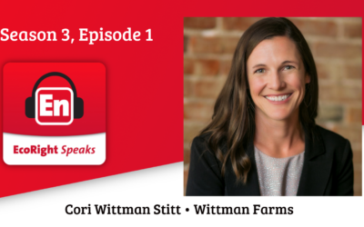 EcoRight Speaks, Season 3 premiere: farmer Cori Wittman Stitt