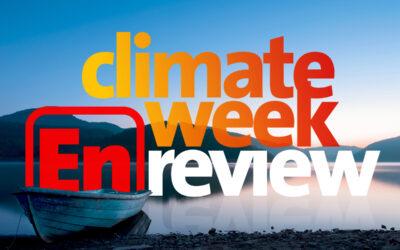 Climate Week En Review, August 27, 2021