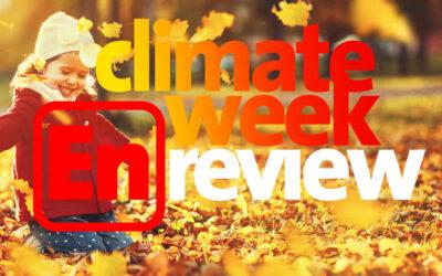 Climate Week En Review: September 10, 2021