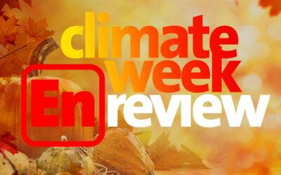 Climate Week En Review: October 1, 2021