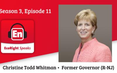 EcoRight Speaks, season 3, episode 11: former NJ Gov. Christie Todd Whitman